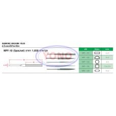Diamond Machine Taper Files (MPF-10)