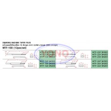 Diamond Machine Taper Files (MTF-100)
