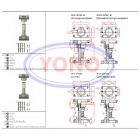 Ball Bearing Guide Post Sets (Movable Stopper)