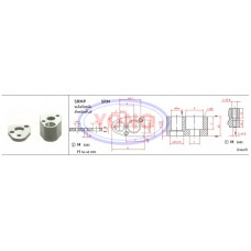 Single Bolt Retainers for Round Punches-Manual Process